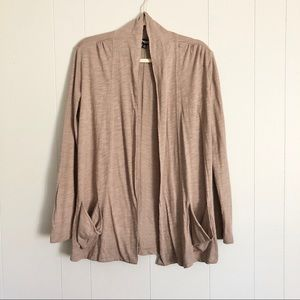 Threads by Saks 5th Avenue burnout open cardigan